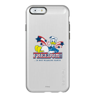 Donald - Freeedom Is Not Wearing Pants Incipio Feather® Shine iPhone 6 Case