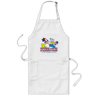 Donald - Freeedom Is Not Wearing Pants Long Apron