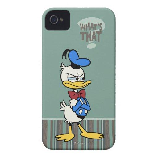 Donald iPhone 4 Case-Mate Carcasa