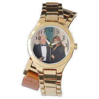 Donald & Melania Trump Wristwatch