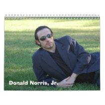 Donald Norris, Jr. Merchandise Calendar