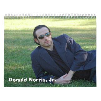 Donald Norris, mercancía del Jr. Calendario
