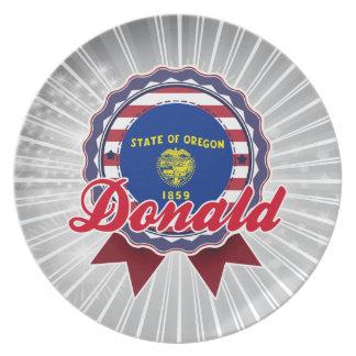 Donald, O Plato Para Fiesta