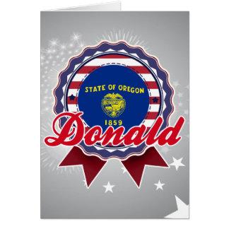 Donald, O Felicitación