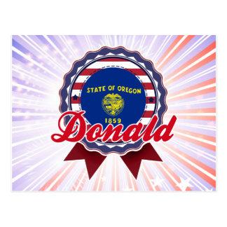Donald, O Tarjetas Postales