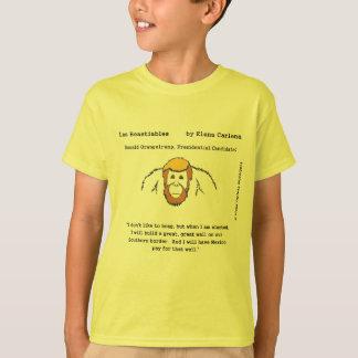 Donald OranguTrump build that wall T-Shirt