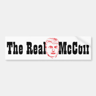 Donald The Real McCoif 2016 Presidential Sticker