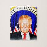 Donald Triunfo-para el presidente del _de los Puzzle