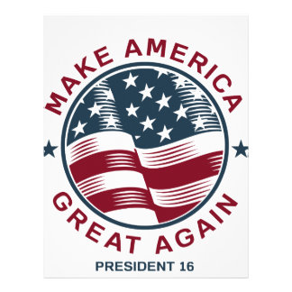 Donald Trump 16 Letterhead
