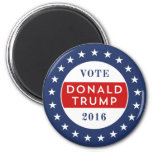 Donald Trump 2016 2 Inch Round Magnet