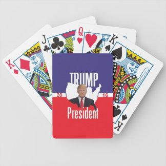 Donald TRUMP 2016 Bicycle Playing Cards