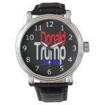 Donald Trump 2016 blancos rojos y azules Relojes