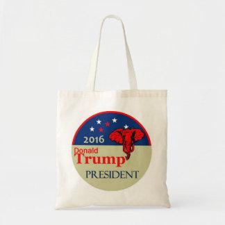 Donald Trump 2016 Bolsa Tela Barata