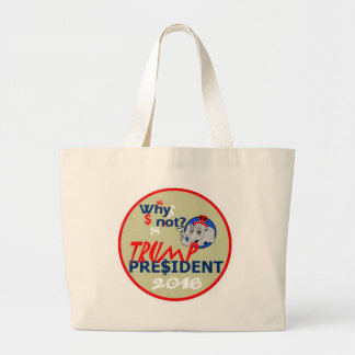 Donald Trump 2016 Bolsa Tela Grande