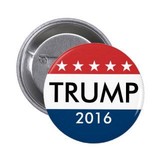 Donald Trump 2016 Button