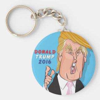 Donald Trump 2016 Cartoon Keychain