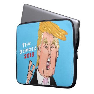 Donald Trump 2016 Cartoon Laptop Sleeve