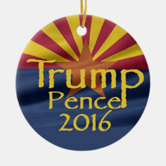 Donald TRUMP 2016 Ceramic Ornament