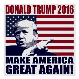 Donald trump posters zazzle for Make america great again wallpaper
