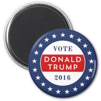 Donald Trump 2016 Imán Redondo 5 Cm