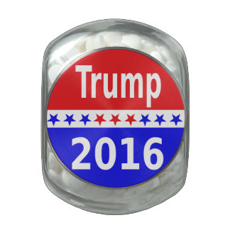 Donald Trump 2016 Jelly Belly Candy Jar