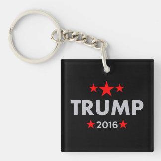 Donald Trump 2016 Llavero Cuadrado Acrílico A Una Cara