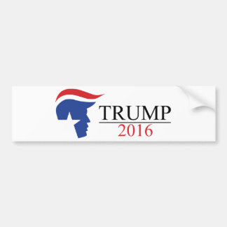 Donald Trump 2016 logotipos presidenciales Pegatina Para Auto
