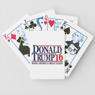 Donald Trump 2016 'Make America Great Again' Bicycle Playing Cards