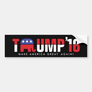 Donald Trump 2016 - Make America Great Again! Car Bumper Sticker