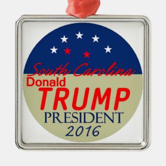 Donald TRUMP 2016 Metal Ornament