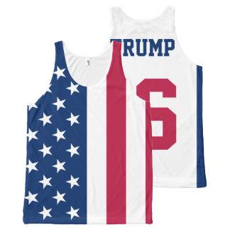Donald Trump 2016 para el presidente bandera