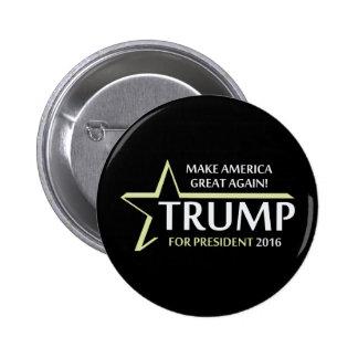 Donald Trump 2016 Pin Redondo 5 Cm