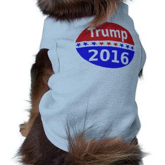 Donald Trump 2016 Playera Sin Mangas Para Perro