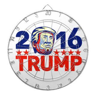 Donald Trump 2016 President Retro Dart Boards