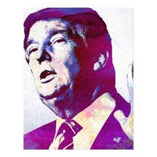 Donald Trump 2016 Presidential Candidate Letterhead
