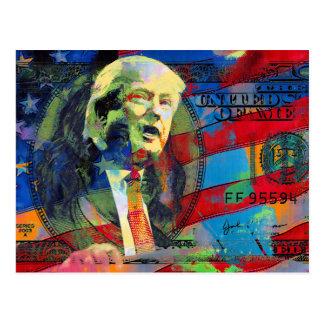 Donald Trump 2016 Presidential Candidate Postcard