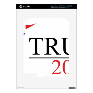 Donald Trump 2016 Presidential Logos Decals For iPad 3