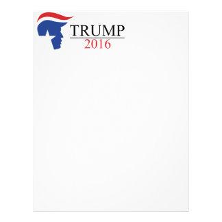 Donald Trump 2016 Presidential Logos Letterhead