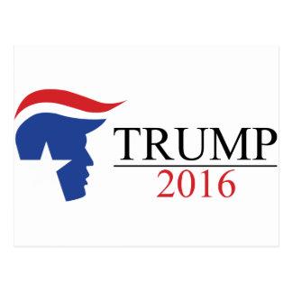 Donald Trump 2016 Presidential Logos Postcard