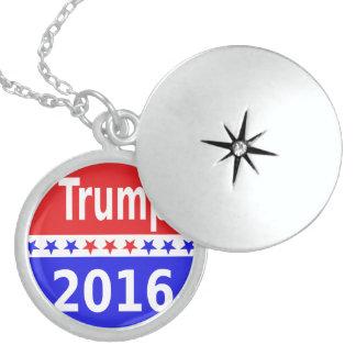 Donald Trump 2016 Round Locket Necklace