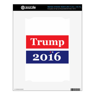 Donald Trump 2016 Decal For The NOOK