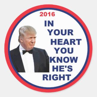 Donald TRUMP 2016 Sticker