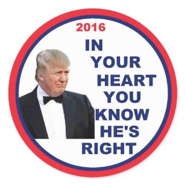 samappleby Donald TRUMP 2016 Sticker