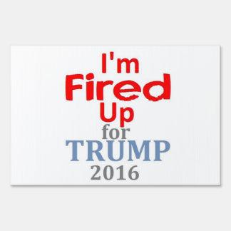Donald TRUMP 2016 Yard Sign