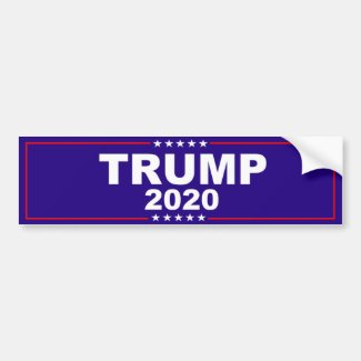 Donald Trump 2020 Bumper Sticker