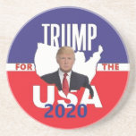 "Donald TRUMP 2020 Coaster<br><div class=""desc"">&quot;President Donald Trump&quot; &quot;Vice President Mike Pence&quot; &quot;Warner Warren Booker Sanders Harris&quot; 2016 2020 &quot;Fake News&quot; Republican &quot;Steve Bannon Conservative&quot; Boulder</div>"
