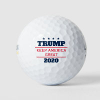 Donald Trump 2020 election Keep America Great Golf Balls