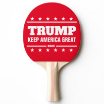 Donald Trump 2020 election Keep America Great Ping Pong Paddle