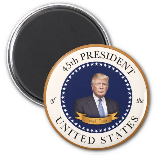 Donald Trump - 45th President of the United States Magnet