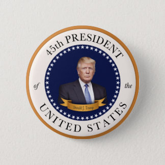 Donald Trump - 45th President of the United States Pinback Button
